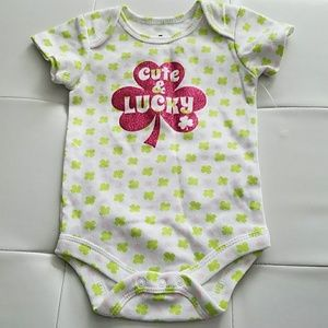 Brand new. lucky onesie for your baby